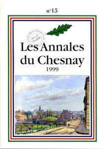 1999 Les annales du chesnay N° 13 couverture 001